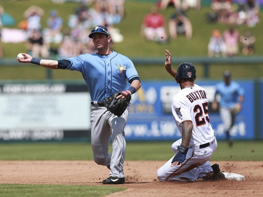 MLB: Spring Training-Tampa Bay Rays at Minnesota Twins