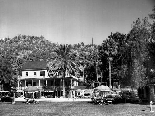 Castle Hot Springs Resort has hosted several U.S. presidents.