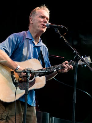 Loudon Wainwright performing at Celebrate Brooklyn held at Prospect Park in New York City on July 20, 2010.