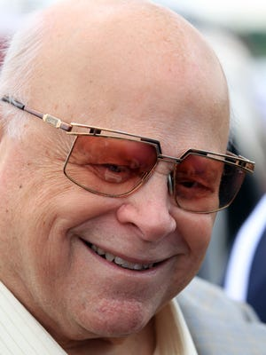 Bruton Smith, owner of Speedway Motorsports Inc., which owns Kentucky Speedway, during a visit to the track in June of 2013.