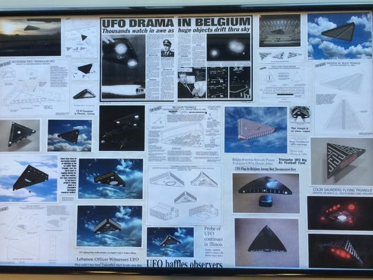 Triangular-shaped UFOs are the most common observed
