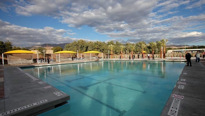 The John Furbee Aquatic Center at the Desert Hot Springs Community Health and Wellness Center received $2.2 million from the state.