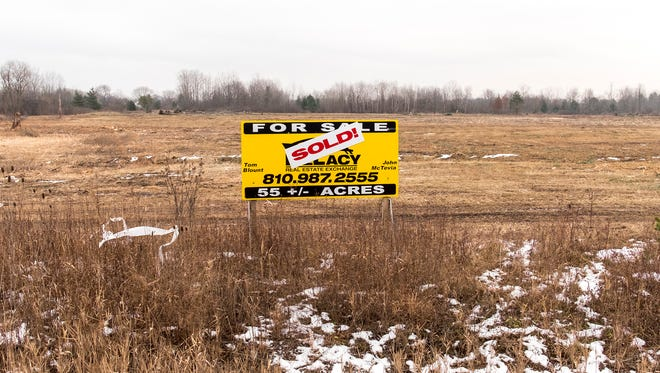 A plot of land on Range Road, south of Ravenswood Road in Marysville, is the site of a proposed housing development.