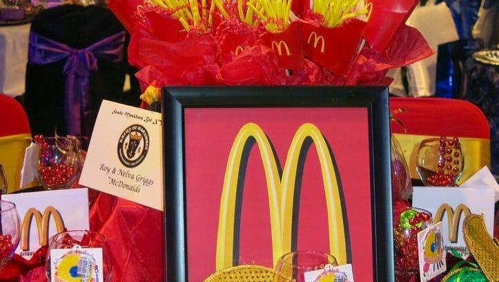 McDonald's fries turn glamorous at Harambee bal