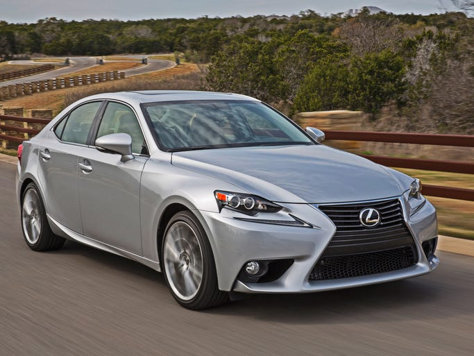 The redesigned 2014 Lexus IS 250, which Lexus has aimed to be more stylish, sportier and more fun to drive.