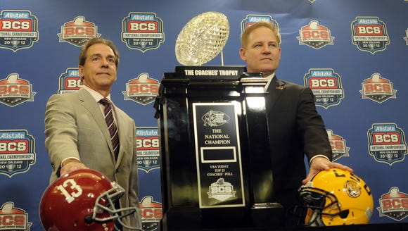 For the past several years, the LSU-Alabama game has