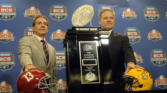 For the past several years, the LSU-Alabama game has had national championship implications.