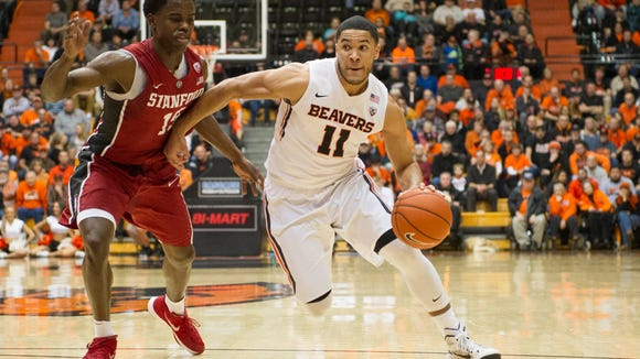 Senior guard Malcolm Duvivier is one of three returning starters for the Beavers.