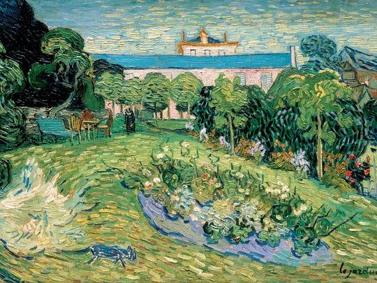Vincent van Gogh, Daubigny's Garden, 1890, oil on canvas. The Rudolf Staechelin Family Foundation Collection, Basel, Switzerland