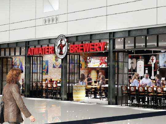Atwater Brewery plans to open a location at Detroit Metropolitan Airport.