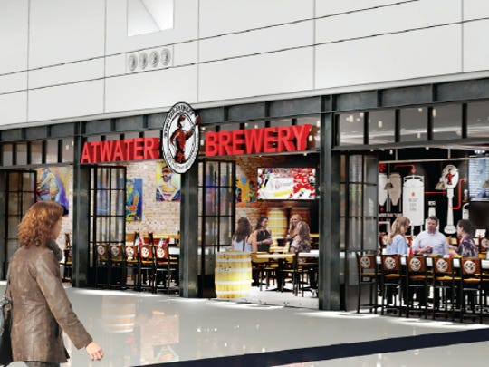 The Wayne County Airport Authority Board, which manages the Detroit Metropolitan airport, announced Monday via a press release that it has awarded 10-year contracts to four concessionaires to operate 15 foot and beverage concepts in the terminal, including Atwater Brewery.