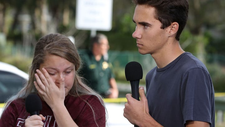 Students Kelsey Friend and David Hogg recount their