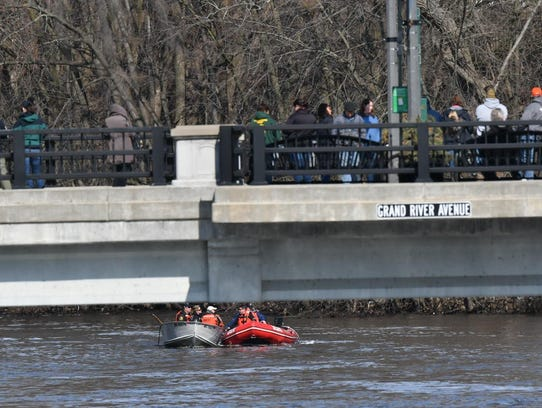 City of Lansing and Ingham County rescue teams search