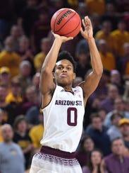 Tra Holder, a 6-foot-1 senior guard, leads Arizona