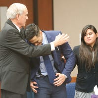 El Paso police officer acquitted in drowning of 11-month-old son