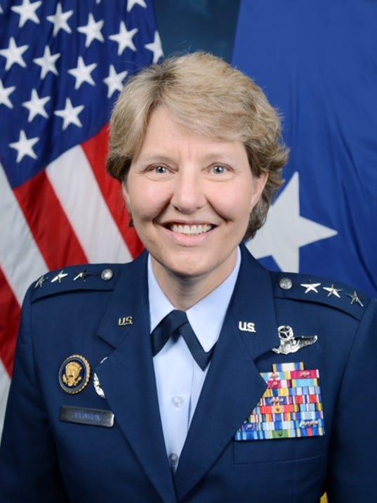 Retired Lt. Gen. Michelle D. Johnson