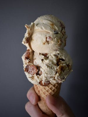 Taylor ham ice cream at Windy Brow Farms in Sussex County.