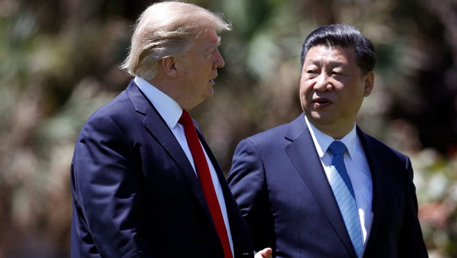President Donald Trump met this month with Chinese President Xi Jinping at Mar-a-Lago, in Palm Beach, Fla.