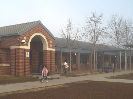 Ft. Braden School, where Patricia Rouse was assistant