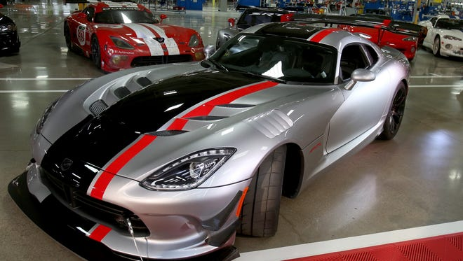 FCA revealed the new 2016 Dodge Viper ACR (American Club Racer) in  May 2015 at the  Conner Avenue Assembly Plant in Detroit, where the Dodge Viper is hand built.