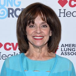 Actress Valerie Harper was hospitalized July 29, 2015 after she lost consciousness during a performance of  'Nice Work If You Can Get It' at the Ogunquit Playhouse in Maine.  She was discharged from York hospital July 30.  Harper was diagnosed with terminal brain cancer in 2013.