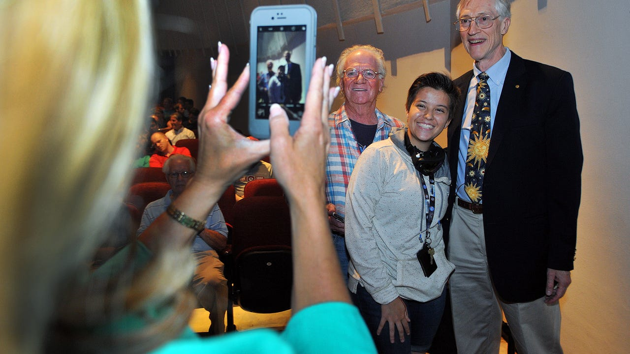 Nobel Prize laureate Dr. John C Mather at FIT
