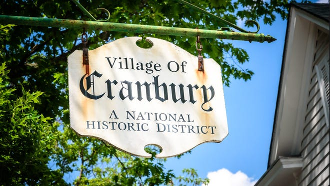 Cranbury is a national historic district.
