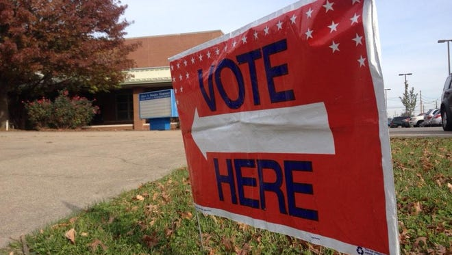 Election 2014 in Louisville.