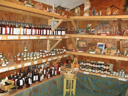Artisanal vinegars and other food products along with cookbooks and creches will be featured at the annual Christmas festival fair at Our Lady of the Resurrection Monastery in LaGrange, Nov. 26-27 and Dec. 3-4, 2016.