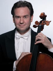 Cellist Steven Honigberg of the National Symphony Orchestra will perform with the York Symphony Orchestra in The Romantics on Feb. 18, 2017.