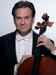 Cellist Steven Honigberg