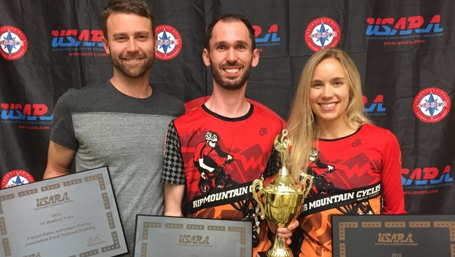 Adventure racers Ryan Knitter of Minneapolis and Tim Buchholz and Anna Nummelin earned a No. 1 ranking in the 2016 U.S. adventure race series.