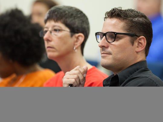 Leon Classroom Teachers Association President Scott Mazur
