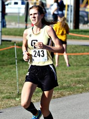 Central Magnet's Camille Smith placed fourth overall and helped the Lady Tigers to a ninth-place finish at the Division I Large Division state cross country meet Saturday.