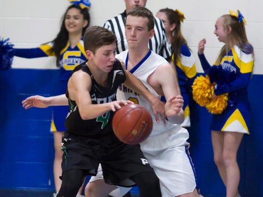 Boys Basketball: Port Washington at Germantown