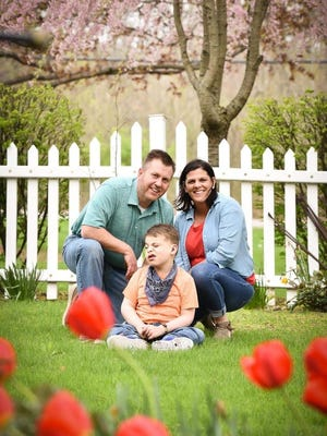 Michael and Nanci Bentley life in Canandaigua with their son, MJ, a graduate of the New Friends preschool program at Happiness House.