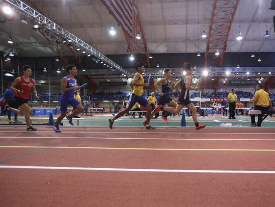 The Bergen County Relays took place at the Armory Track