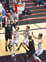 The FHS Jackets battle Hickman County on the basketball