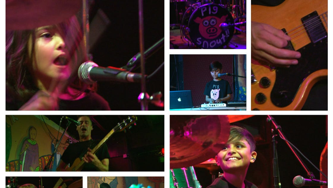 Tacoma Kids Rock In Pig Snout