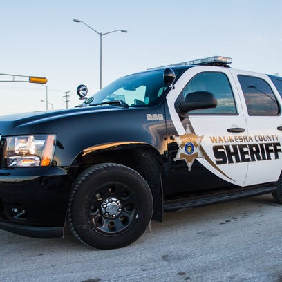 Waukesha County Sheriff's vehicle