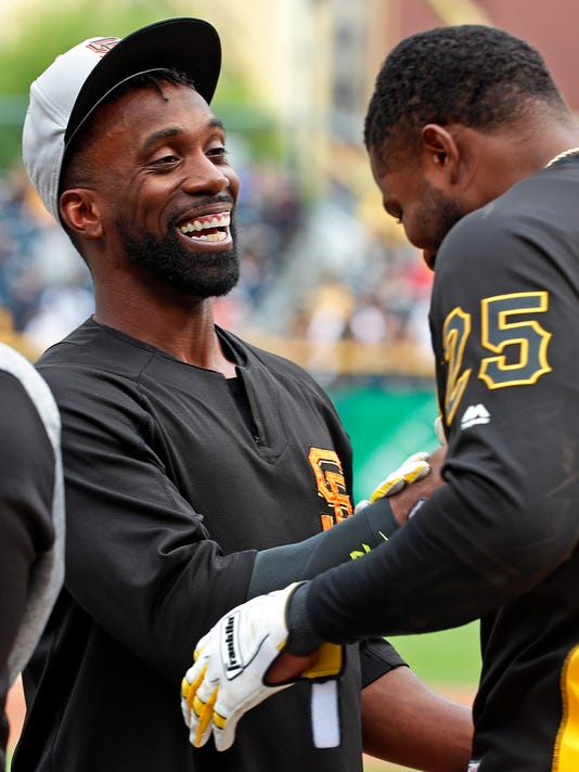 Gregory Polanco, Andrew McCutchen