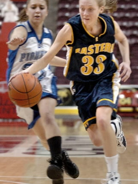 Kate Dellinger, shown during her playing days at Eastern York, went on to a brilliant collegiate career at Widener.