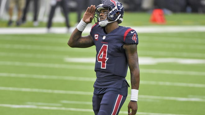 Since joining the league in 2017, Houston Texans quarterback Deshaun Watson is undefeated in five starts against Jacksonville, including the only win Houston has this year.