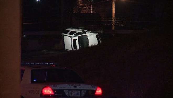 IMPD officers are investigating an early Thursday morning crash.