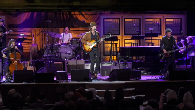 The Lumineers perform at the 2016 Americana Music Honors and Awards Show at the Ryman Auditorium on Sept. 21, 2016.