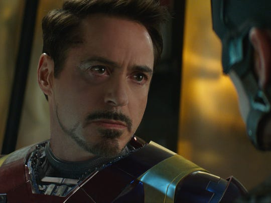 Robert Downey Jr., seen here with Chris Evans in 'Captain