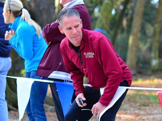 FSU cross country and track coach Bob Braman.