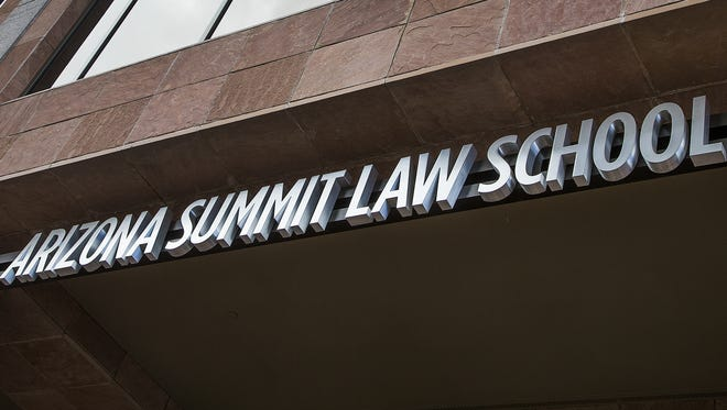 Arizona Summit Law School at 1 North Central in downtown Phoenix is one of three law schools in the state.