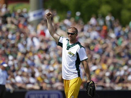 Jordy Nelson has been the face of the annual charity softball event for four years.