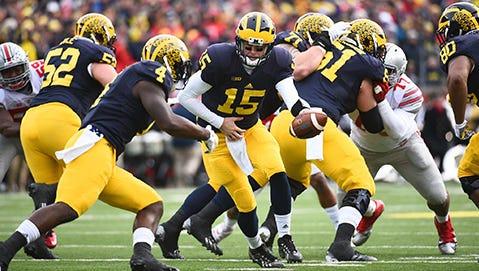 Michigan QB Jake Rudock.